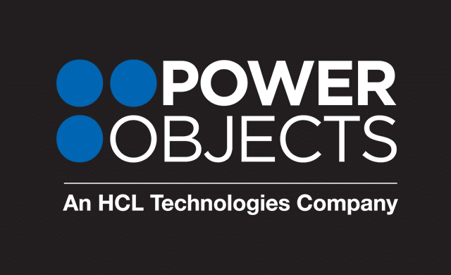 PowerObjects Logo A Color on black