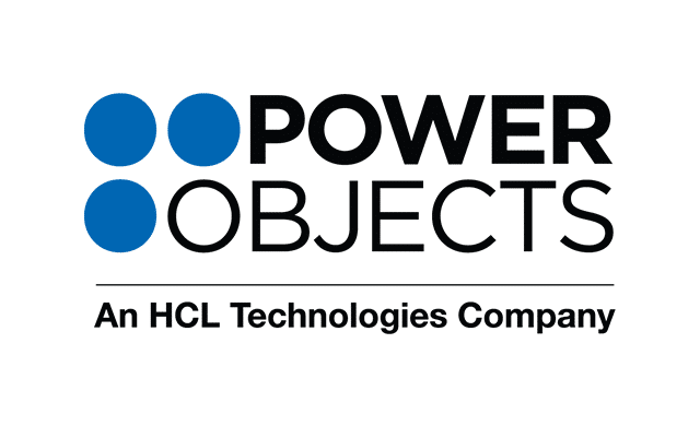 PowerObjects Logo B Color on white