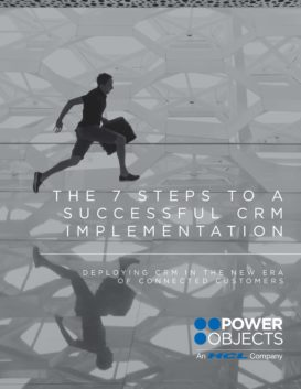 The 7 Steps to a Successful CRM Implementation eBook Cover