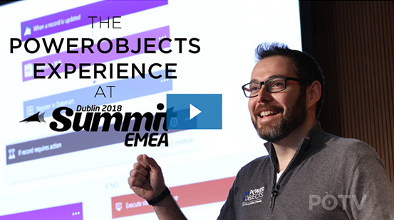 The PowerObjects Experience at D365UG Summit EMEA 2018