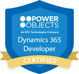 Dynamics 365 Developer Certification