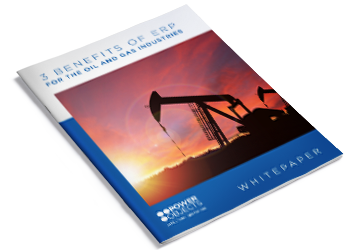 Benefits of ERP for the Oil and Gas Industries